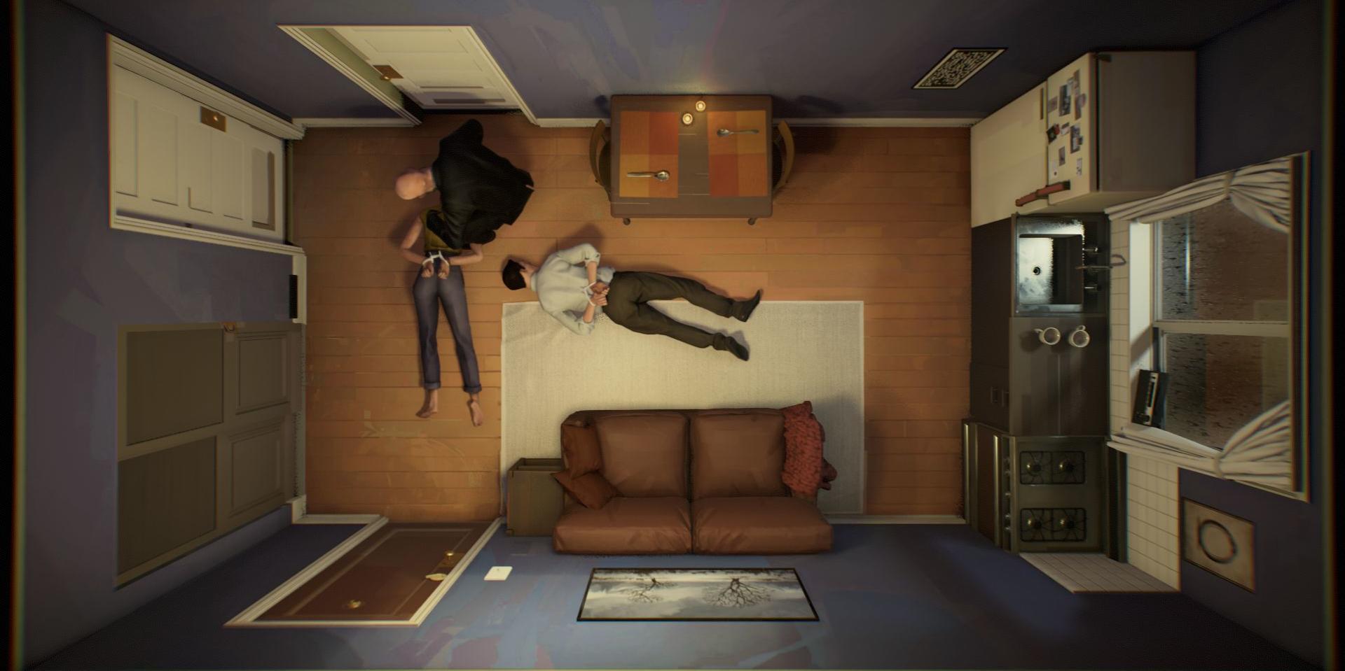 Chose rare dans le jeu vidéo, les trois personnages de «Twelve Minutes» sont doublés par des acteurs hollywoodiens: James McAvoy, Daisy Ridley et Willem Dafoe.