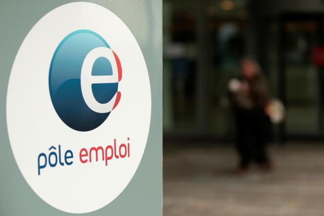 L'agence Pôle emploi de Noisy-le-Grand (Seine-Saint-Denis), en avril 2021.