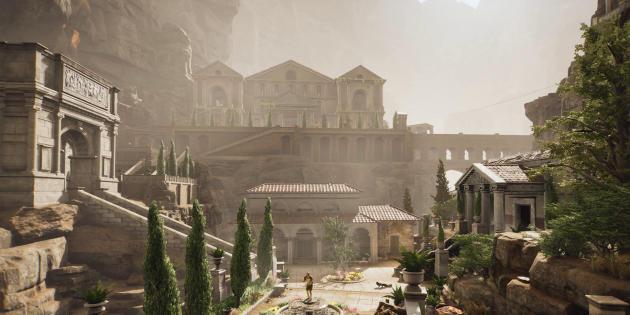 Dans « The Forgotten City », un homme du XXIesiècle est propulsé dans une villede la Rome antique. Un voyage dans le temps d'autant plus vertigineux qu'il se double d'une boucle temporelle.