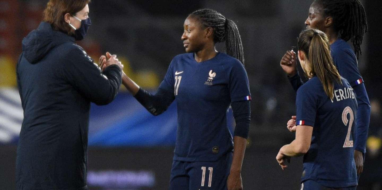 Coupe du monde 2023 : large victoire de l'équipe de France féminine de football contre la Grèce en ouverture des qualifications