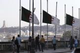Les drapeaux algériens ont été mis en berne, samedi 18 septembre, au lendemain du décès de l'ancien président Abdelaziz Bouteflika.