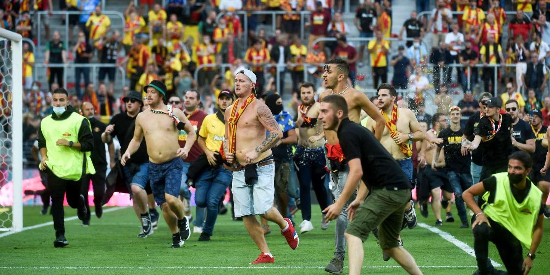 Incidents lors de Lens-Lille : jusqu'à dix-huit mois d'interdiction de stade pour des supporteurs lensois