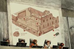 Projection des pièces à conviction de l'attaque du Bataclan, lors du procès du 13-Novembre, à Paris, le 17 septembre 2021.