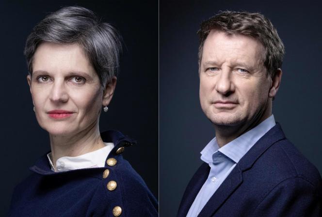 Sandrine Rousseau et Yannick Jadotse sont hissés au second tour de la primaire d'Europe Ecologie-Les Verts (EELV).