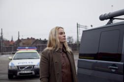 Sofia Helin dans la série danoise «Bron», actuellement disponible sur Arte.tv.