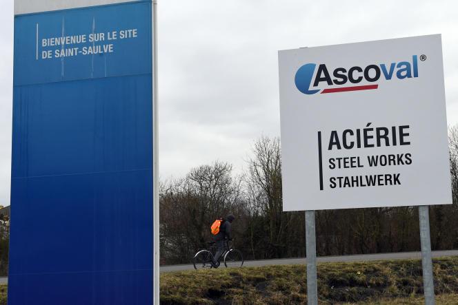 Usine Saint-Saulve d'Ascoval, en janvier 2018.