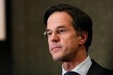 Le premier ministre néerlandais, Mark Rutte, le 17 mars 2021 à La Haye.