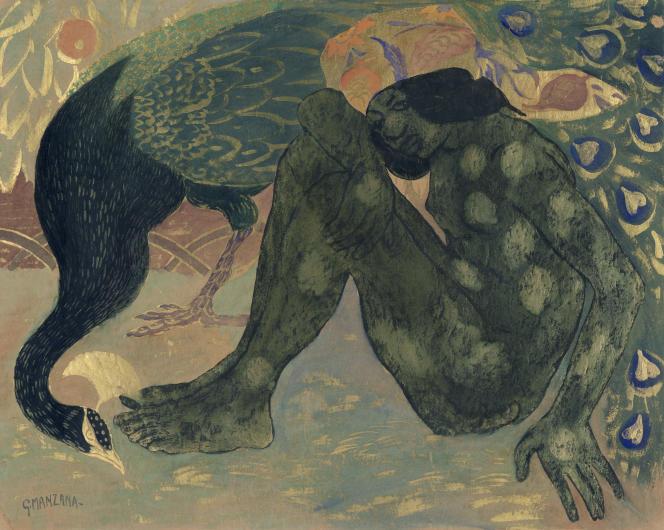 « Anis al Djalis, conte arabe» (1907), de Georges Manzana-Pissarro.