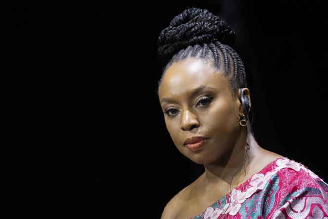 L'écrivaine nigériane Chimamanda Ngozi Adichie à Düsseldorf, en Allemagne, le 8 septembre 2021.