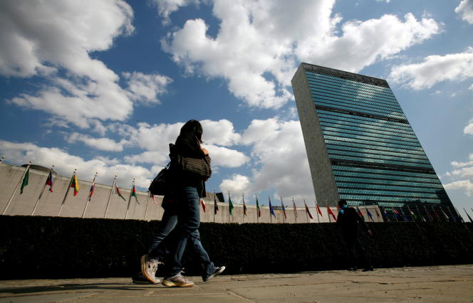 United Nations Headquarters in New York, March 24, 2008.