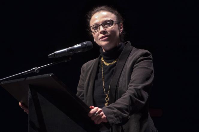 Sophie Joissains, alors déléguée à la culture pour la région PACA, à Avignon, en mars 2016.