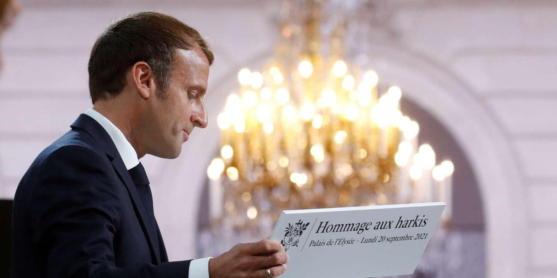 « Arrière-pensée électorale », « mots justes »… Les réactions aux annonces d'Emmanuel Macron sur les harkis