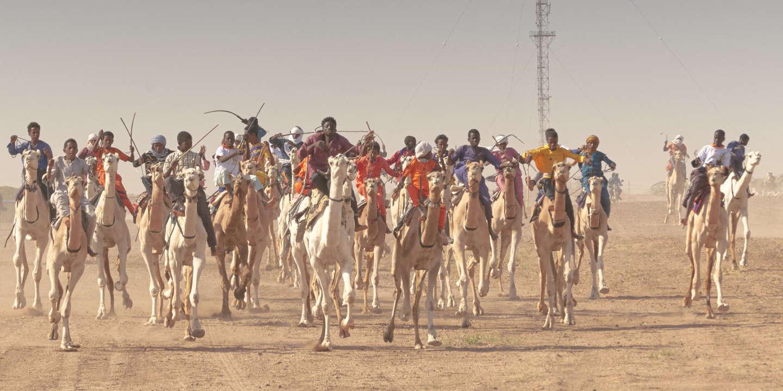 Niger: à Ingall, l'une des principales courses de dromadaires du Sahara
