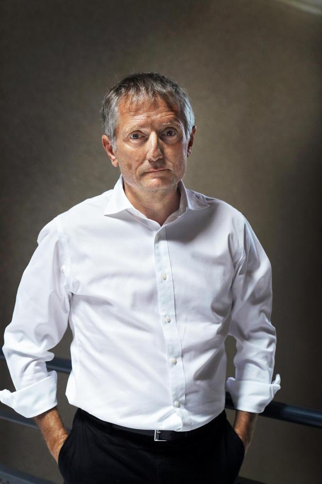 Le directeur général de l'Assistance publique-Hôpitaux de Marseille, François Crémieux, le 7juillet, à Marseille.