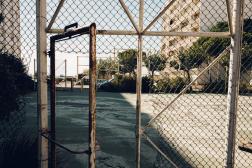 Une grande partie des habitants de la cité Aigues Douces n'est pas vaccinée, à Port-de-Bouc (Bouches-du-Rhône), le 20 septembre 2021.