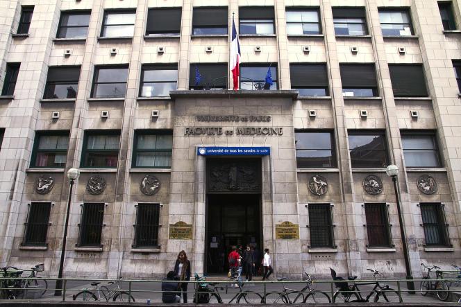 La faculté de médecine à Paris, en 2011.