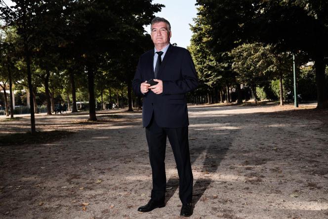 Christophe Bay, à Paris, le 17 septembre 2021.