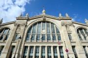 La façade de la Gare du Nord de Paris, en 2014.