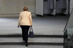 La chancelière allemande, Angela Merkel, à Berlin, le 7 septembre 2021.