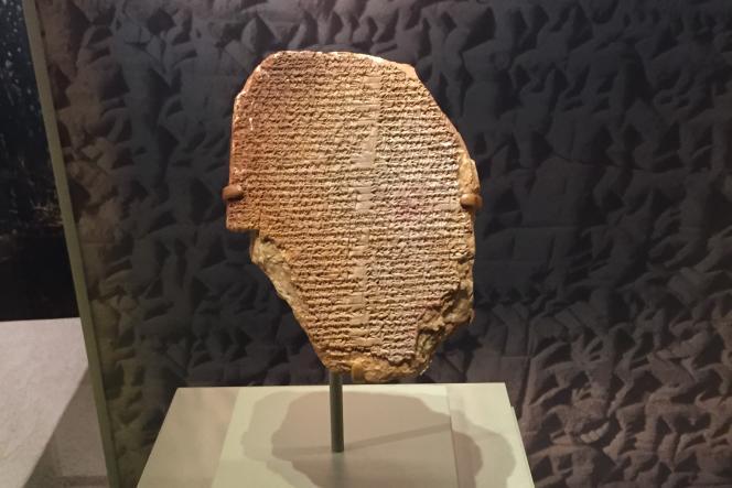 La«tablette de Gilgamesh».