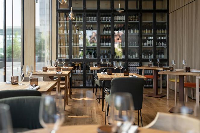 Le restaurant Nosso, à Paris.