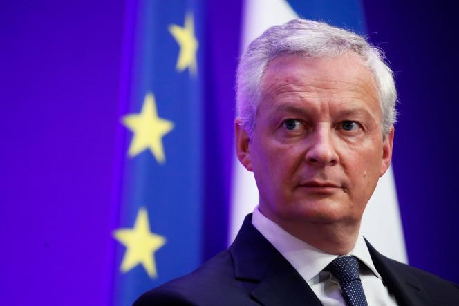 Le ministre de l'économie et des finances, Bruno Le Maire, à Paris, le 22septembre 2021.