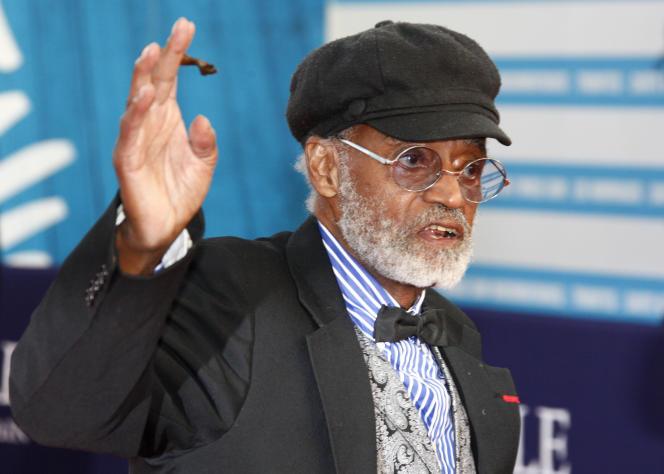Melvin Van Peebles, di Deauville, 5 September 2012, saat menghormati karirnya selama Festival Film Amerika ke-38.