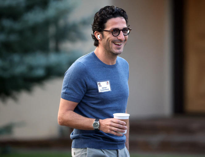 Adrien Nussenbaum, co-founder and CEO of Mirakl, in Sun Valley (Idaho, United States), July 8, 2021.