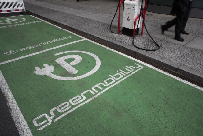 Station de recharge pour véhicules électriques à Berlin