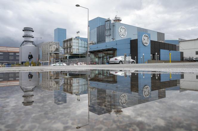 General Electric à Belfort, en septembre2020.