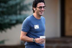 Adrien Nussenbaum, cofondateur et PDG de Mirakl, à Sun Valley (Idaho, Etats-Unis), le 8 juillet 2021.