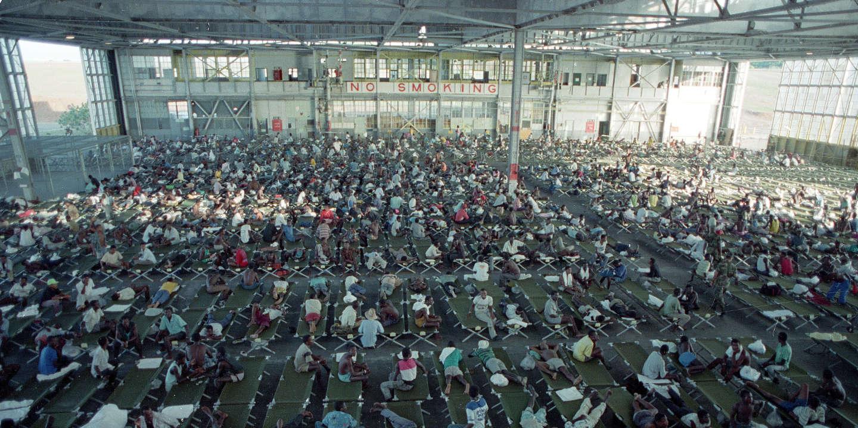 Centre de rétention pour migrants, l'autre visage de la base américaine de Guantanamo