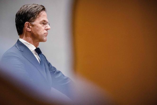 Le premier ministre néerlandais, Mark Rutte, à LaHaye, le 23septembre2021.