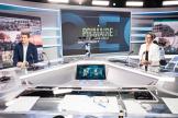 Yannick Jadot et Sandrine Rousseau se sont affrontés lors d'un débat sur LCI, le 22 septembre 2021, à Boulogne Billancourt.