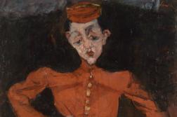 «Le Groom» («Le Chasseur», 1925) de Chaïm Soutine, huile sur toile.