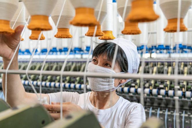 Dans une usine de Nantong (Chine), le 15 juillet 2021.