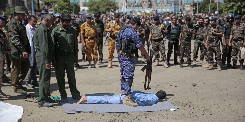 Exécution publique de neuf personnes au Yémen