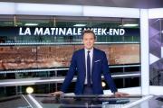 Thomas Lequertier sur le plateau de la matinale week-end de CNews, en novembre 2018.