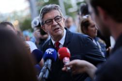 Jean-Luc Mélenchon, à Paris, le 24 septembre 2021.