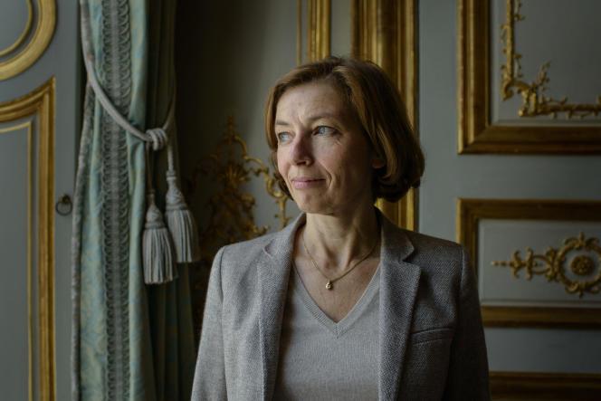 Florence Parly, ministre des armées, à Paris, en octobre 2017.