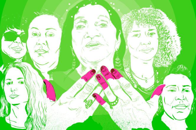 «Les Héritières», création en hommage àCheikha Rimitti avecHadjla, Nawel Ben Kraïem, Souad Asla, Samira Brahmia et Cheikha Rabia.