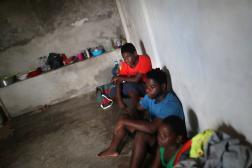 Des migrants d'Haïti, à Tapachula, dans le Chiapas, au Mexique, le 16 septembre 2021.