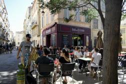 Le quartier du Panier à Marseille, le 16 juillet 2021.