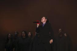 Christine and the Queens au concert Global Citizen Live à Paris, le 25 septembre 2021.