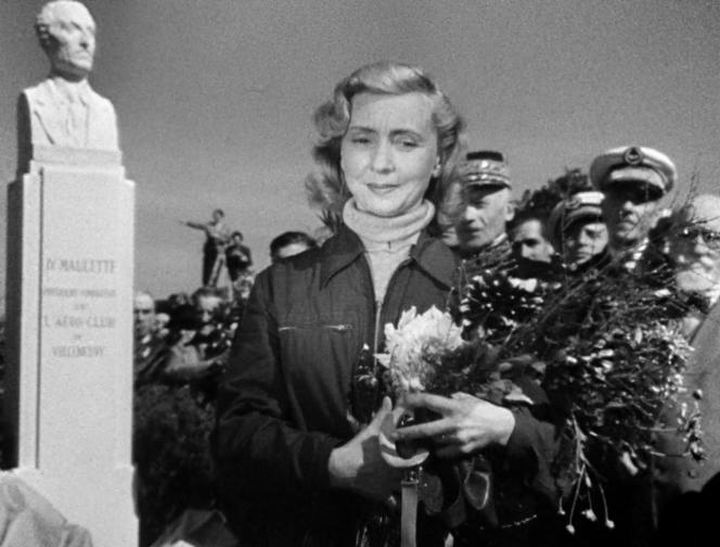 Thérèse Gauthier (Madeleine Renaud) dans «Le Ciel est à vous» (1944), de Jean Grémillon.