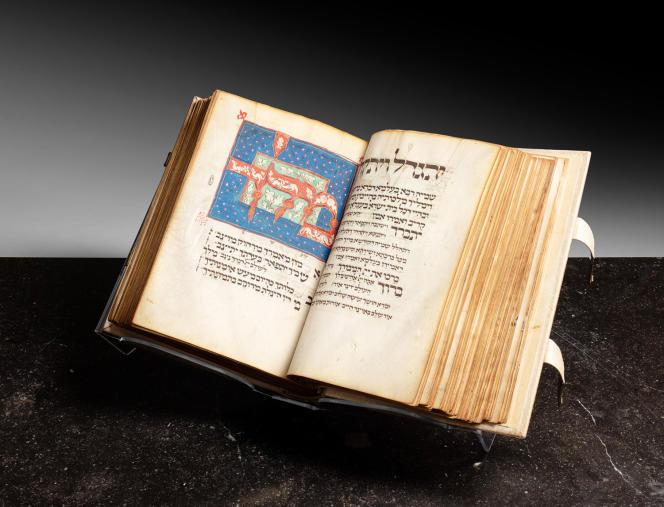 Le Mahzor Luzzatto, un recueil de prières hébraïques datant du Moyen Age, sera mis en vente par Sotheby's à New York, le 19 octobre.