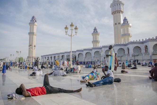 La grande mosquée de Touba lors du grand Magal des mourides, le 26 septembre 2021.