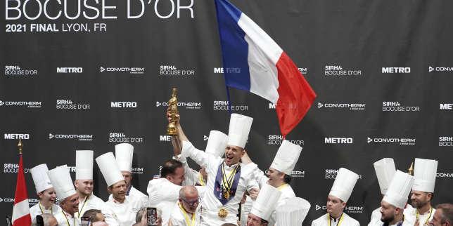 Bocuse d'or : la France remporte le prestigieux concours culinaire