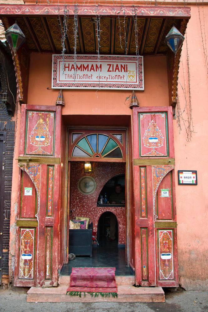 Lors du premier confinement, les 14000hammams marocains (ici, à Marrakech) avaient brusquement cessé leur activité, privant de revenu 280000employés.