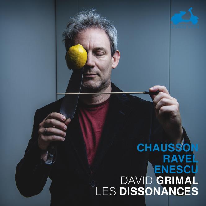 Pochette de l'album «Chausson – Ravel – Enescu », par David Grimal et l'ensemble Les Dissonances.
